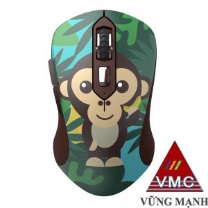 Chuột không dây DareU LM115G Multi-Color Monkey