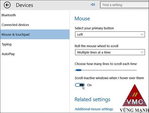 Khai thác các tính năng ẩn trên Windows 10