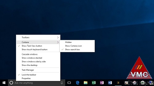 3 mẹo tùy biến thanh Taskbar trong Windows 10
