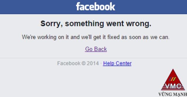 Facebook bất ngờ bị sập mạng