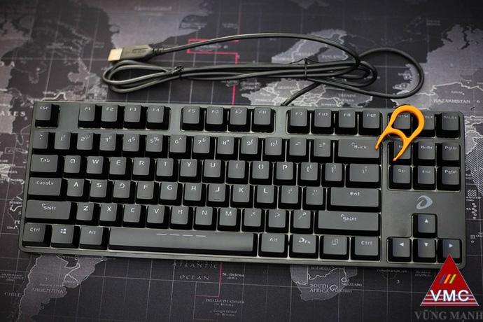 DareU DK87 - Bàn phím cơ nhỏ gọn cơ động giá rẻ giật mình cho game thủ