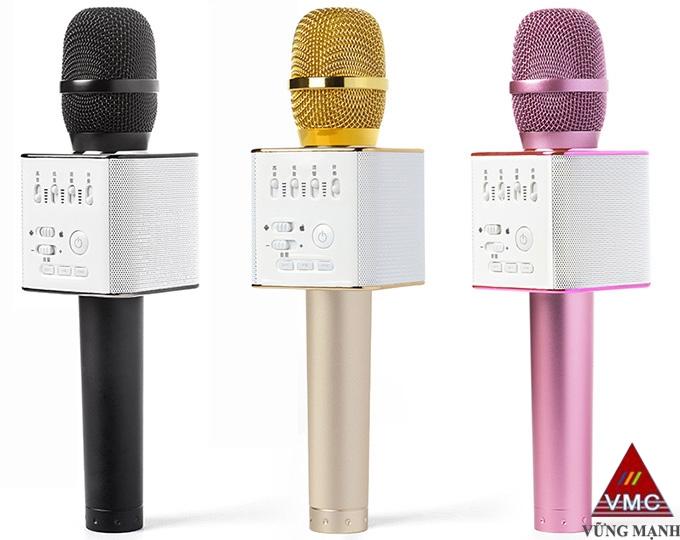 micgeek q9 - micro hat karaoke kiem loa bluetooth cho dien thoai android, iphone